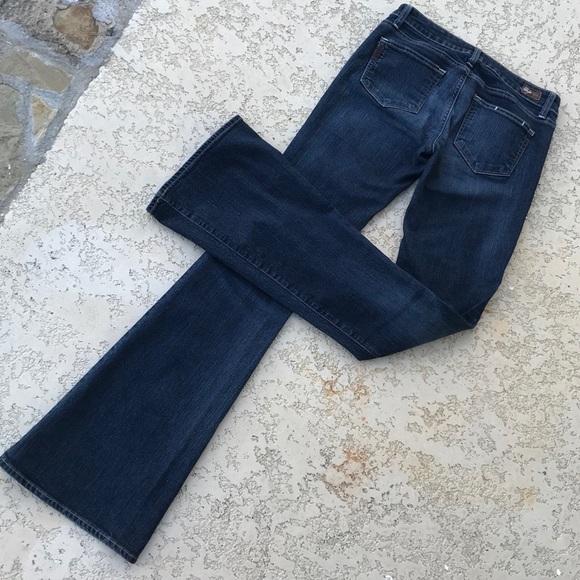 PAIGE Denim - PAIGE Canyon Flare Jeans Denim Size 27